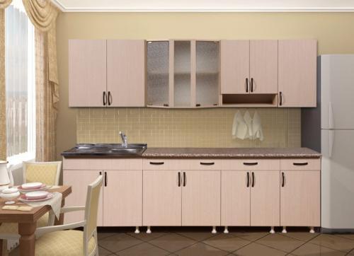 Кухня Лилия - 3. Размер: 2600 мм., цена: 26000 руб.