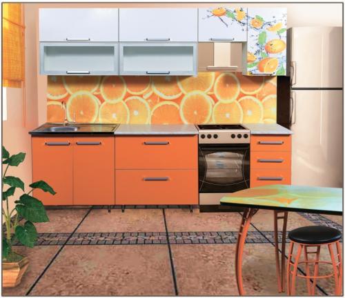 Кухня Лилия - 10. Размер: 2000 мм., цена: 26000 руб.