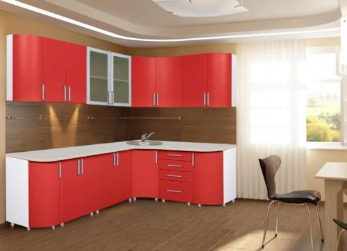 Кухня Лилия - 15. Размер: 2300*1500 мм., цена: 35000 руб.