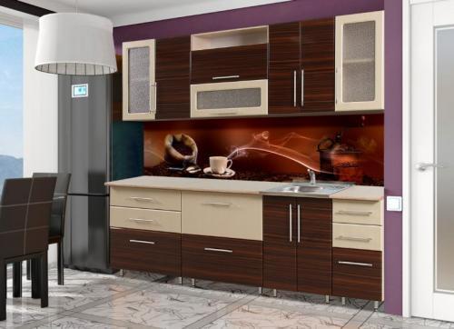 Кухня Лилия - 21. Размер: 2600 мм., цена: 26000 руб.