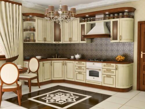 Кухня Виола. Размер: 1600*3000 мм., цена: 184000 руб.