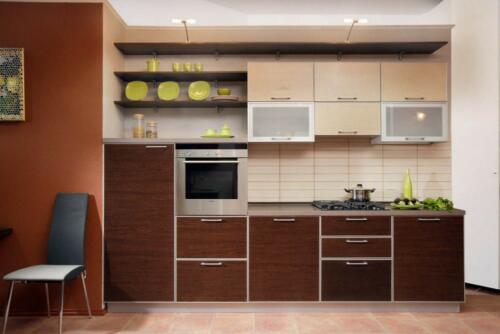 Кухня Коньён - 3. Размер: 3300 мм., цена: 55000 руб.