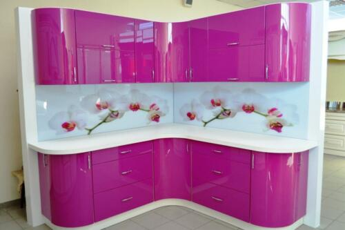 Кухня Фиалка. Размер: 1800*1800 мм., цена: 72000 руб.