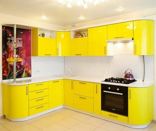 Кухня Лимон. Размер: 1900*2900 мм., цена: 85000 руб.
