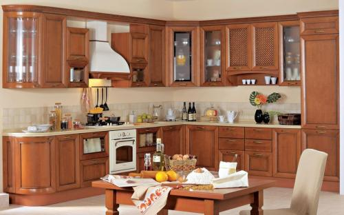 Кухня Лара - 2. Размер: 3400*2900 мм., цена: 127000 руб.