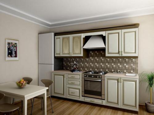 Кухня Николь - 2. Размер: 2100 мм., цена: 48000 руб.