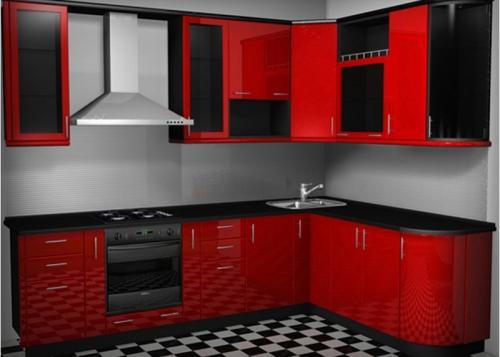 Кухня Нина - 3. Размер: 3100*1800 мм.,  цена: 165000 руб.