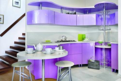 Кухня Фиалка. Размер: 1400*2700 мм., цена: 137000 руб.