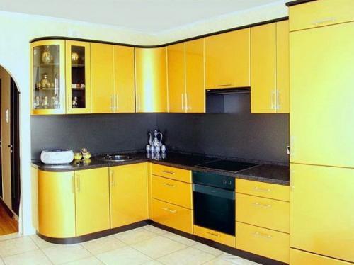 Кухня Лимон. Размер: 1800*2900 мм., цена: 121000 руб