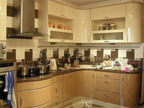 Кухня Милана - 2. Размер: 2300*1800 мм., цена: 115000 руб.