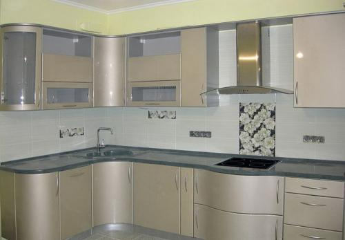 Кухня Николь - 2. Размер: 1600*2500 мм., цена: 135000 руб.
