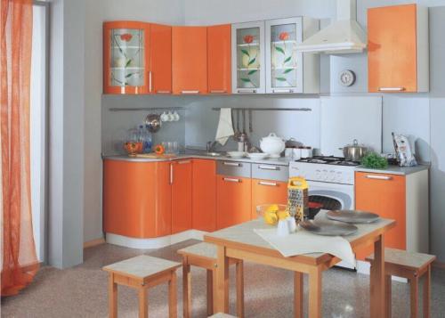 Кухня Гранат 1.2*2.0м. Мдф цена 48000р.