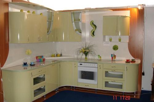 Кухня Силуэт 2.3*2.8м. Эмаль цена 123500р.