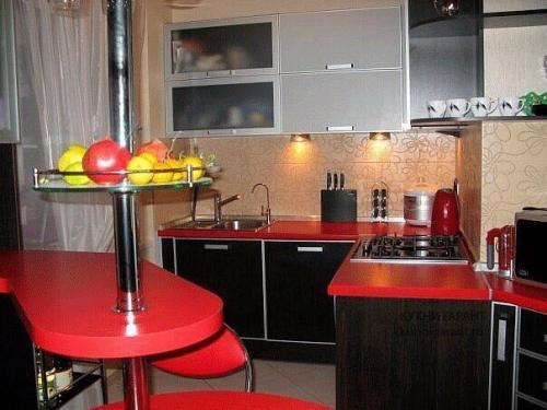 Кухня Барная 2.0*2.4м. Мдф цена 80000р.