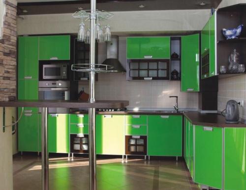 Кухня Оливо 3.6*2.3м. Пластик цена 129800р.