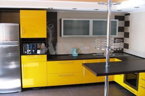 Кухня Апельсин 2.9*2.0м. Пластик цена 78000р.