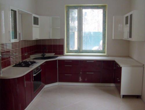 Кухня Мираж  2.0*2.5*1.7м.  Мдф цена 99200р.