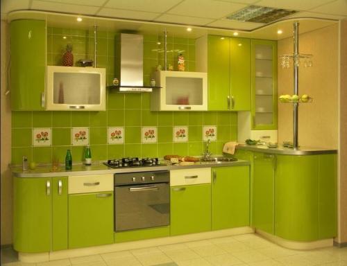 Кухня мдф 2.8*1.5м. цена 75000р.
