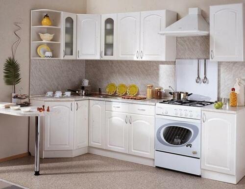 Кухня Снежинка. Размер: 1300*2200 мм., цена: 56000р.