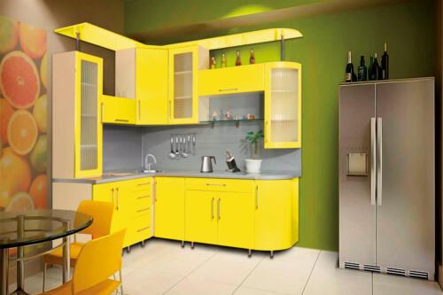 Кухня Лимон. Размер: 1600*2200 мм., цена: 60800р.